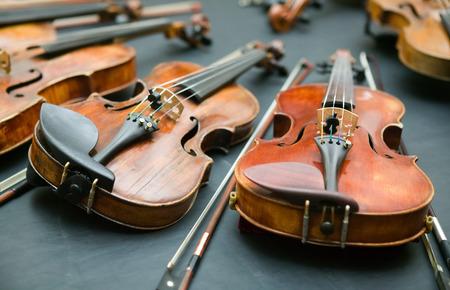 violins: Violins on the table