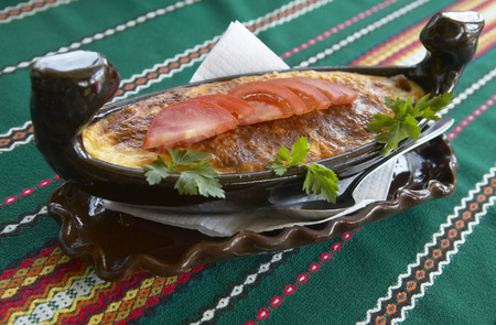 collation: Meat dish