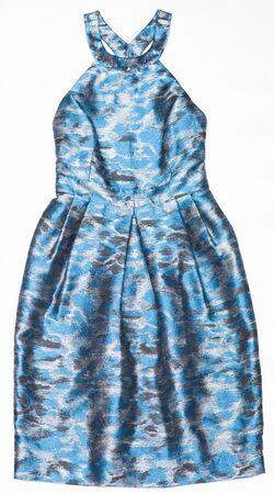nitid: Fashion female dress on a white background