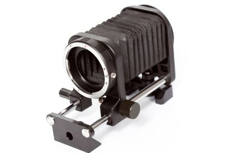 bellows: macro bellows, used in close-up photography