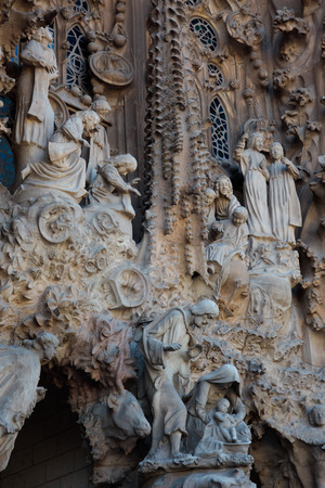 catalunia: La Sagrada Familia - the impressive cathedral designed by Gaudi, which is being build since 1882 and is not finished yet