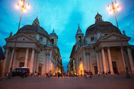 del: Piazza del Popolo Editorial