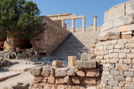 rhodes: Acropoli Lindos - Rhodes Greece