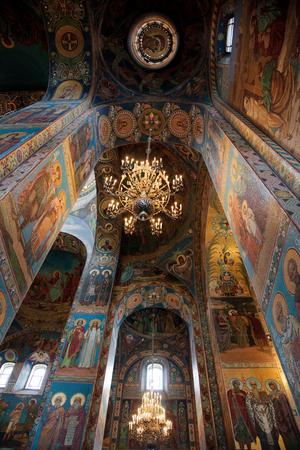 savior: Church of the Savior on Blood. Interiors.