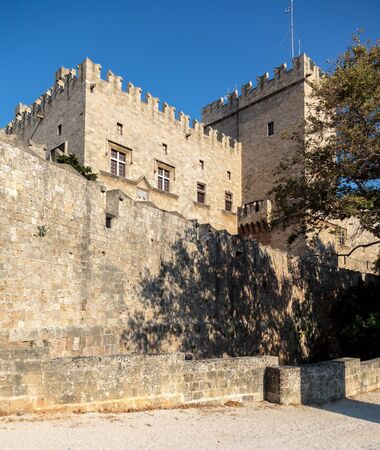 fortify: Fortification walls outside Rhodes