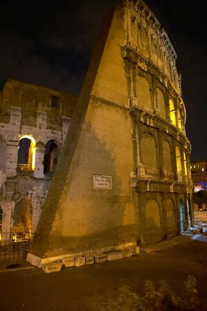 nightscene: Colosseo in the night. Rome. Italy.