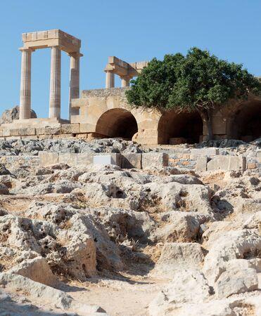 lindos: Acropoli Lindos - Rhodes Greece
