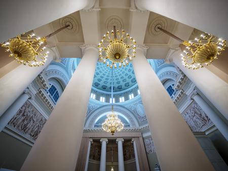 Фрагменты интерьера Таврического дворца.