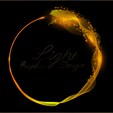 Abstract background, luminous swirling. Elegant glowing circle.Glow effect. Glint galaxy. Abstract rotational energy. Magic design round frame. Swirl trail effect.