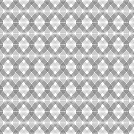 Modern geometric background. An abstract pattern made of thin lines Illustration