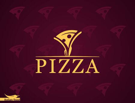 italian cuisine: Pizza  Italian cuisine  Template design