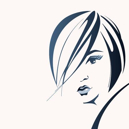 retratos: A face da mulher Ilustra��o