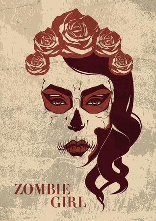 sexy vampire: zombie girl