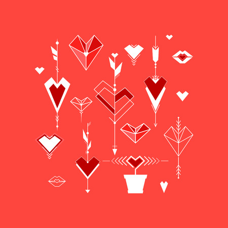 Valentine Illustration Background Vector