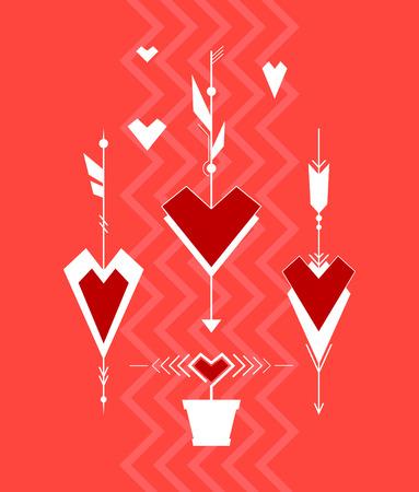 Valentine  Illustration Background Vector