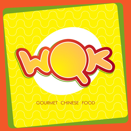 chinese takeout box: Vector cartoon illustration of noodles Illustration