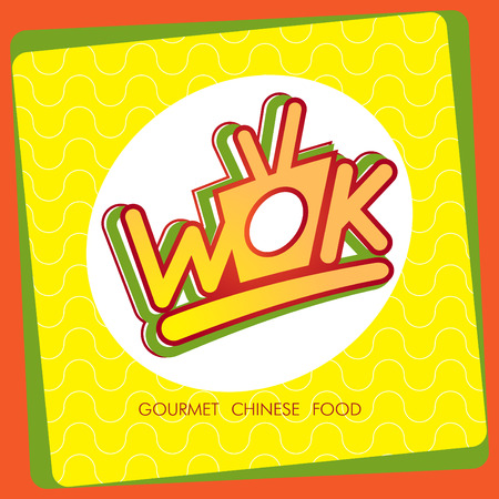 chinese take away container: Vector cartoon illustration of noodles Illustration