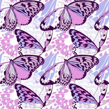 mimicry: Seamless butterfly wing pattern