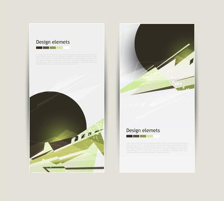 first form: Modern Design elements. Vector file