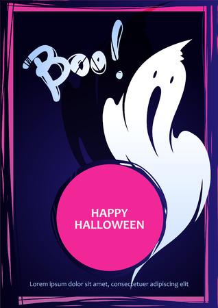 spook: Vector ghosts for Halloween