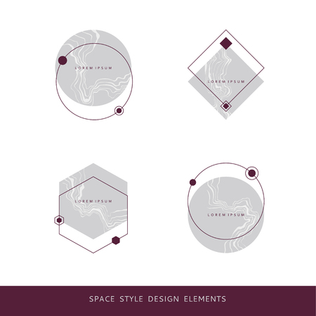 Space style design elements
