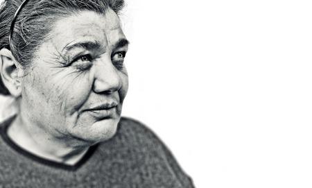 congenial: Old woman portrait