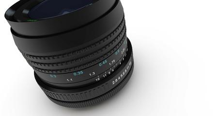 Camera lens 3D Stock Photo - 17472669
