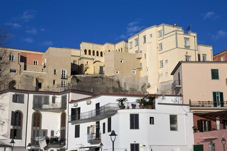 recently: The old Pozzuoli buildings recently restored