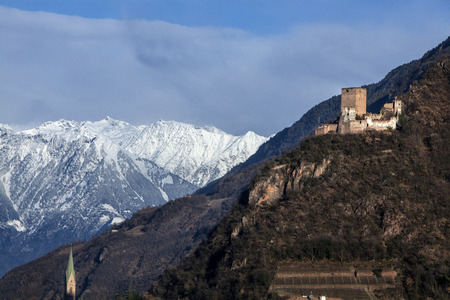 Castle Neuhaus, Terlano, Alto Adige, Italy Editorial
