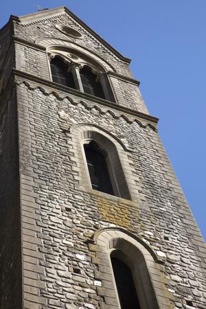 Santa Maria chapel steeple in Scarperia Banco de Imagens