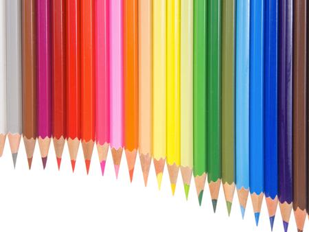 pan flute: slim crayons pan flute arrangement copy space