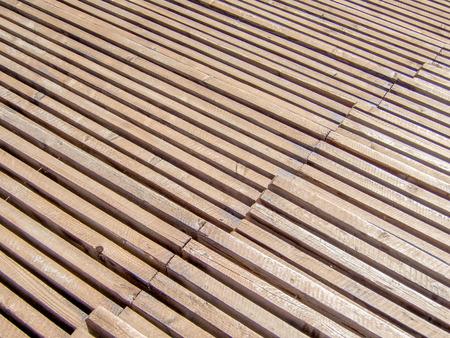 rostrum: rows in a wooden sports rostrum pattern texture