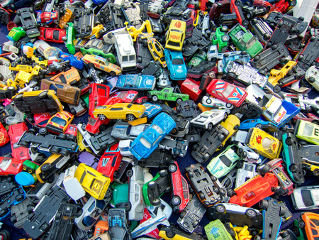 heap of old die cast vintage toy cars for sale