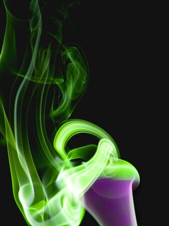 colored smoke: abstract photo colored smoke