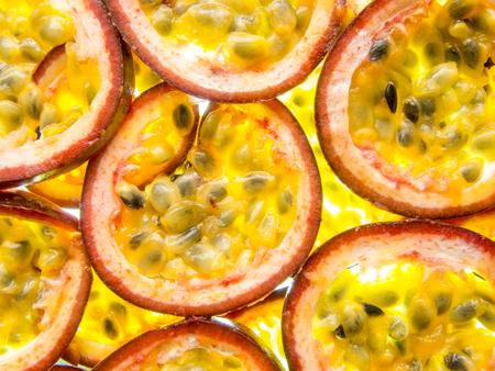 acidity: back lit slices of ripe maracuja passion fruit