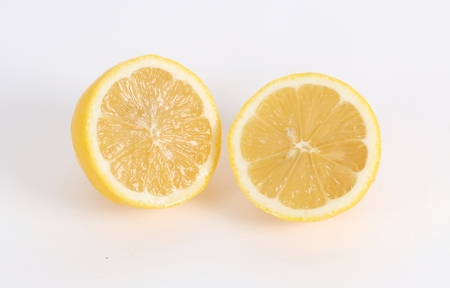 citrons: Two half of citrons in the studio