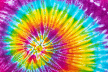 tie dye  pattern abstract background. Stock Photo