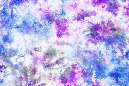 cravatta colorata colorante modello astratto sfondo. Archivio Fotografico