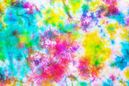 colorful tie dye pattern abstract background. 写真素材