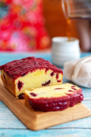 roselle pound cake