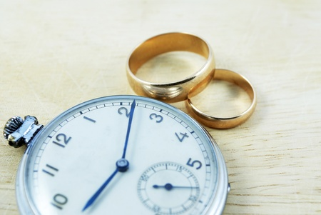 Long marriage  Stock Photo