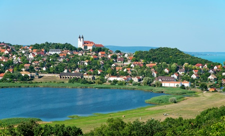 Landscape of Tihany, Hungary Stock Photo - 12025145