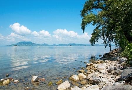 Landscape of Lake Balaton, Hungary  Stock Photo - 12025166