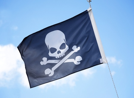 The Jolly Roger  Stock Photo - 12035793
