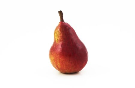 Beautiful red pear
