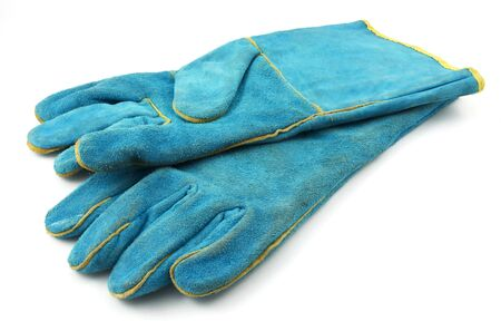 Heavy-duty gloves  Stock Photo