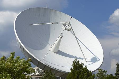 Space Telecommunication Station  Stock Photo