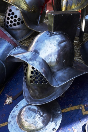 Gladiator helmet Stock Photo - 12135867