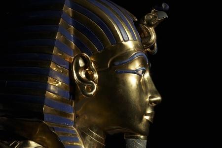 Tutankhamen s golden mask  Stock Photo
