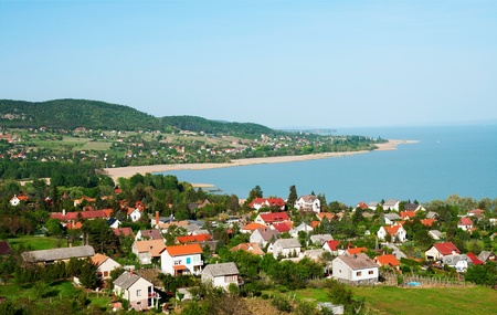 Little village at Lake Balaton, Hungary